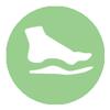 Custom orthotics and compression stockings